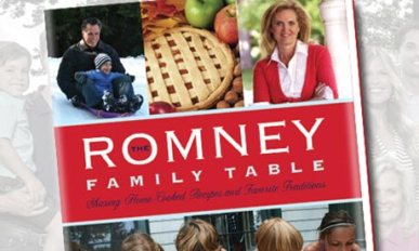 Romney family cookbook cover